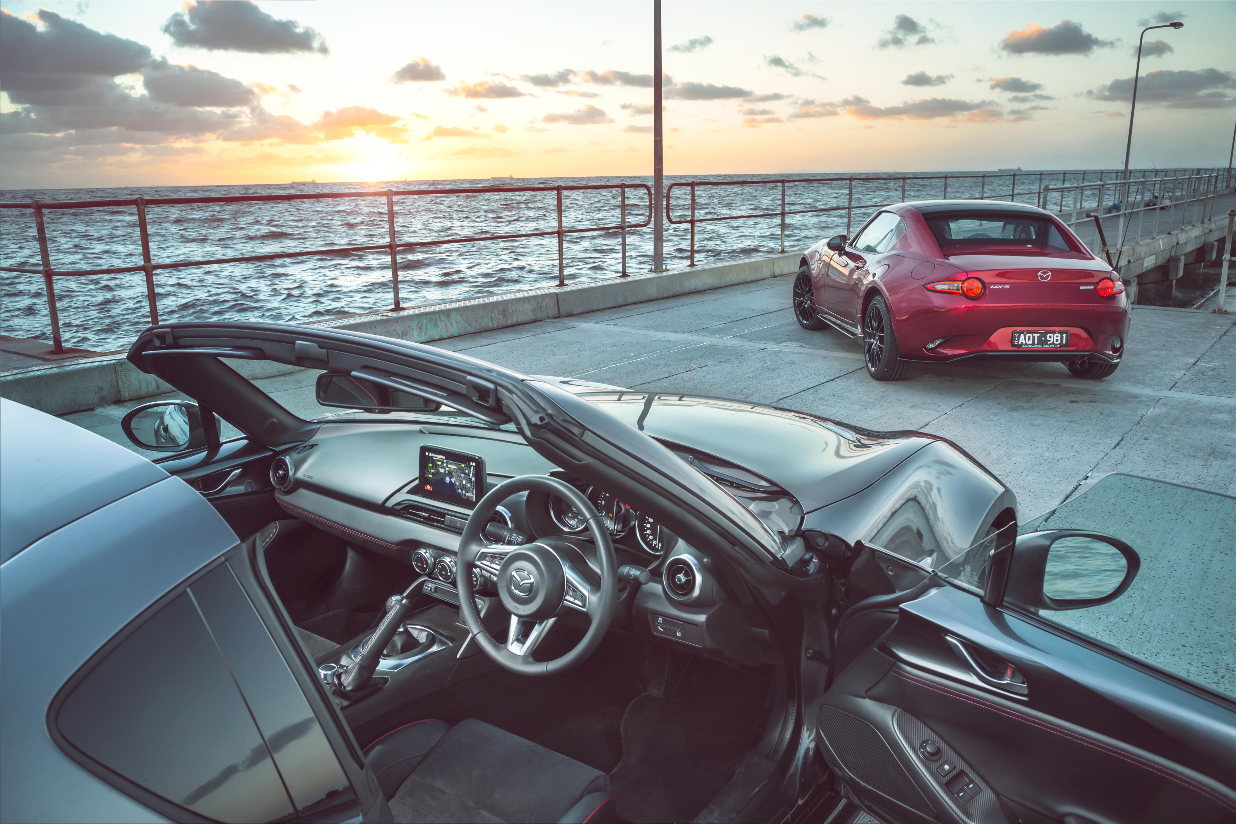 2018 Mazda MX-5 RF Limited Edition.