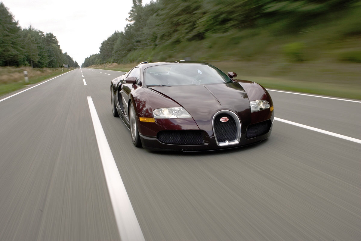 We may see cars like the Bugatti Veyrons on the road.