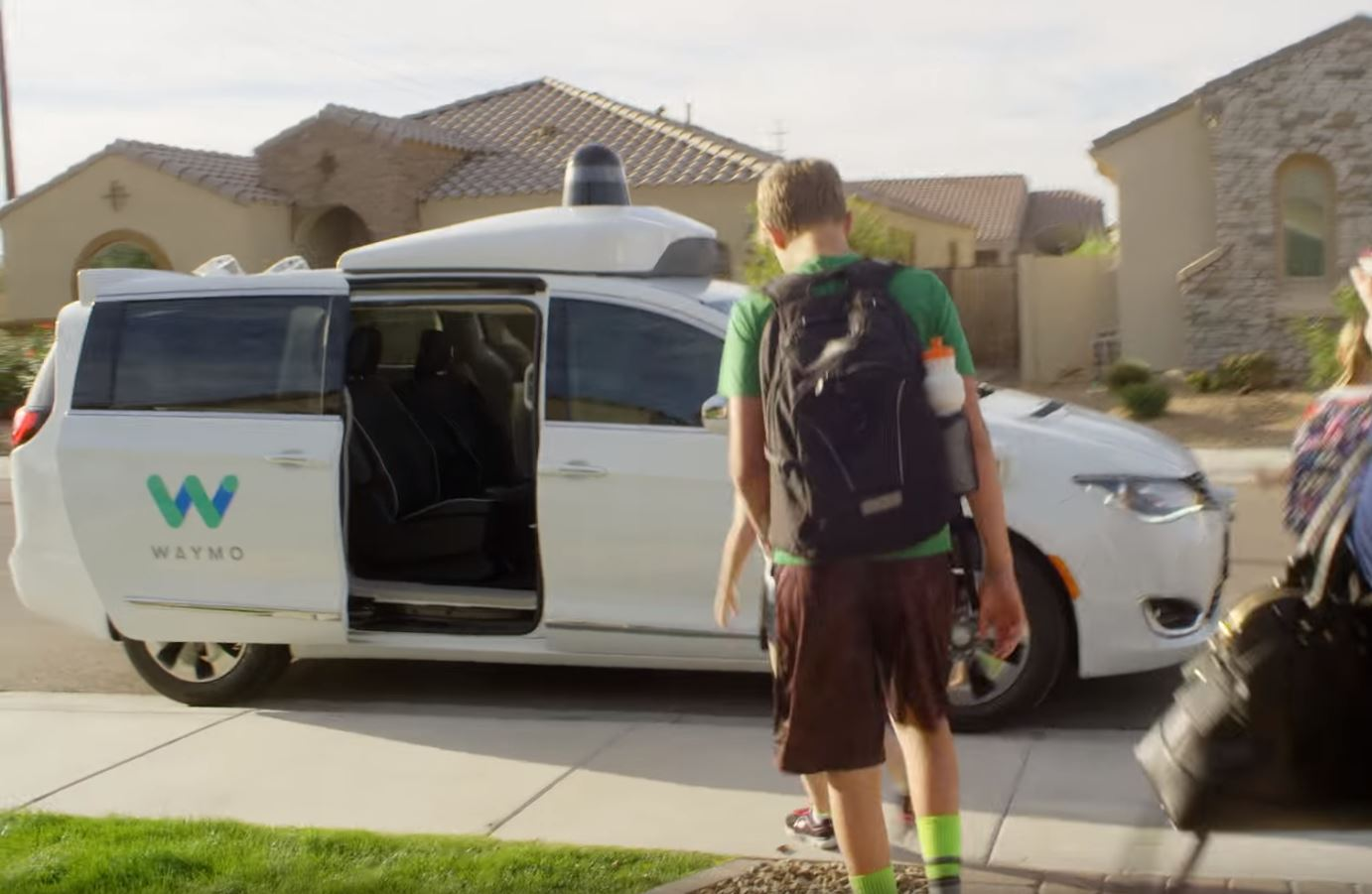 Google's Waymo has commenced self-driving taxi trials in Arizona.