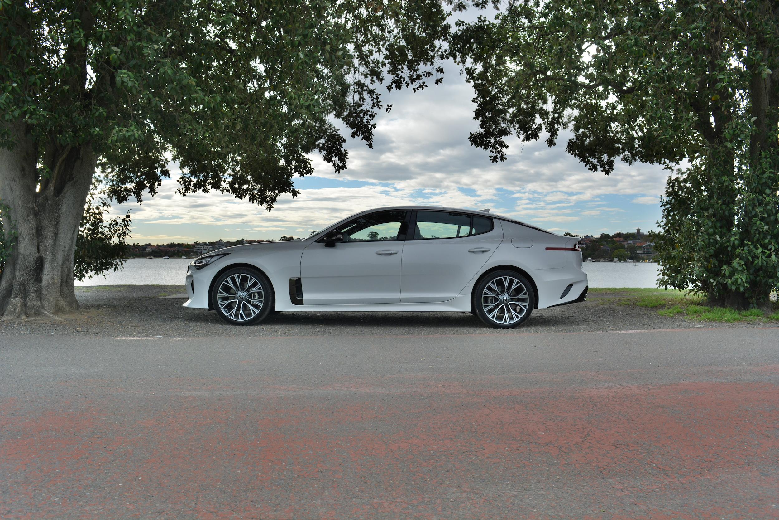 2018 Kia Stinger GT-LIne.