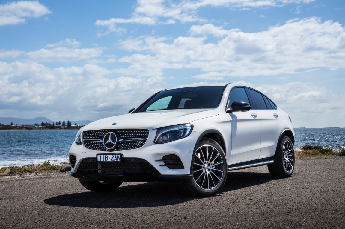 2017 Mercedes-Benz GLC Coupe.