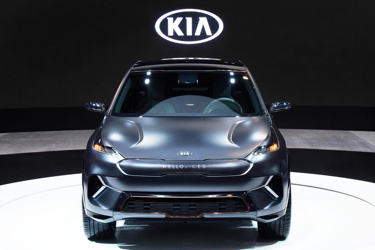 Kia Niro EV Concept car
