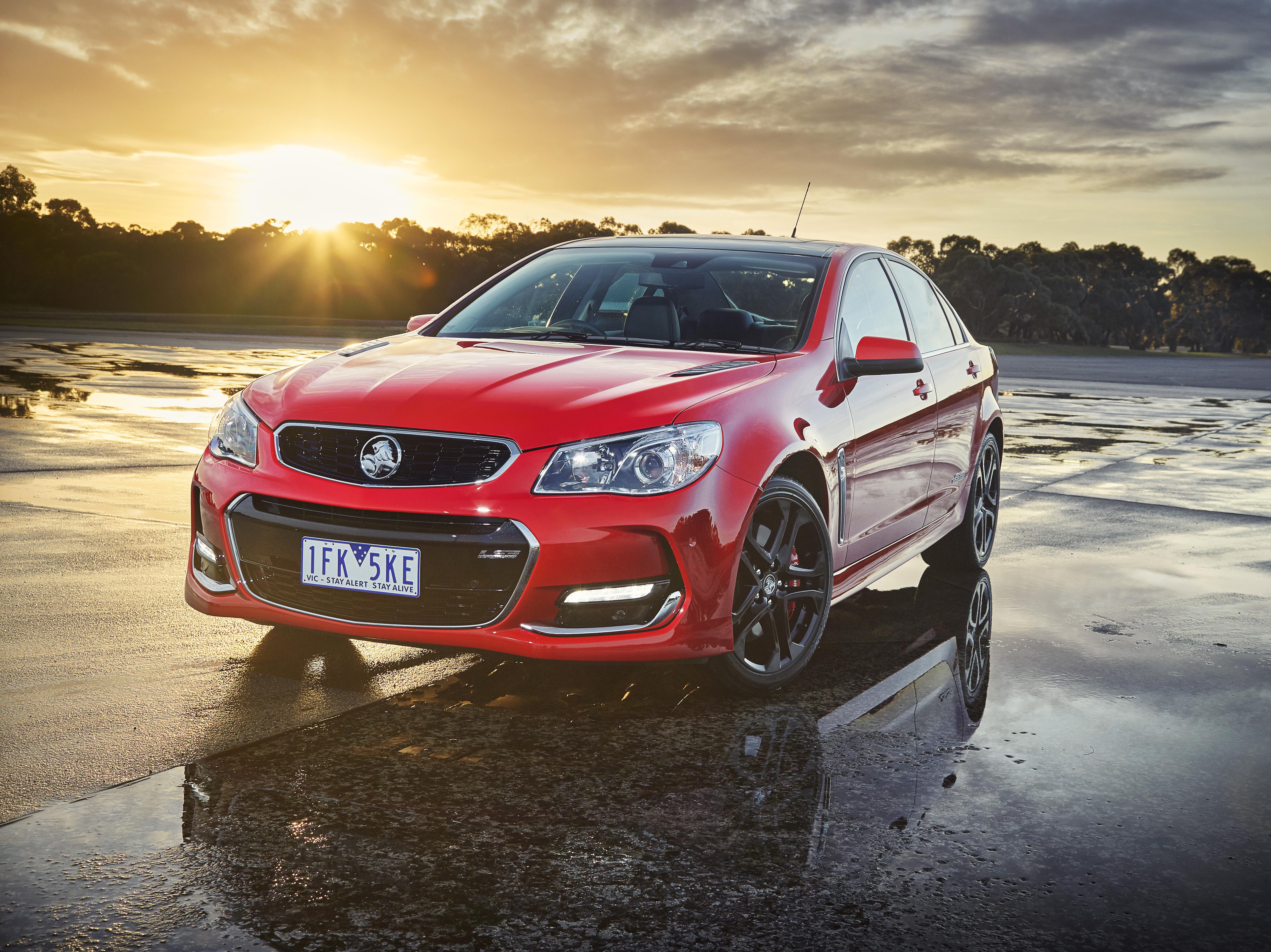 2017 Holden SS-V redline