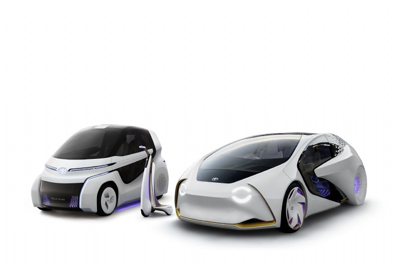 Toyota Concept-i Range