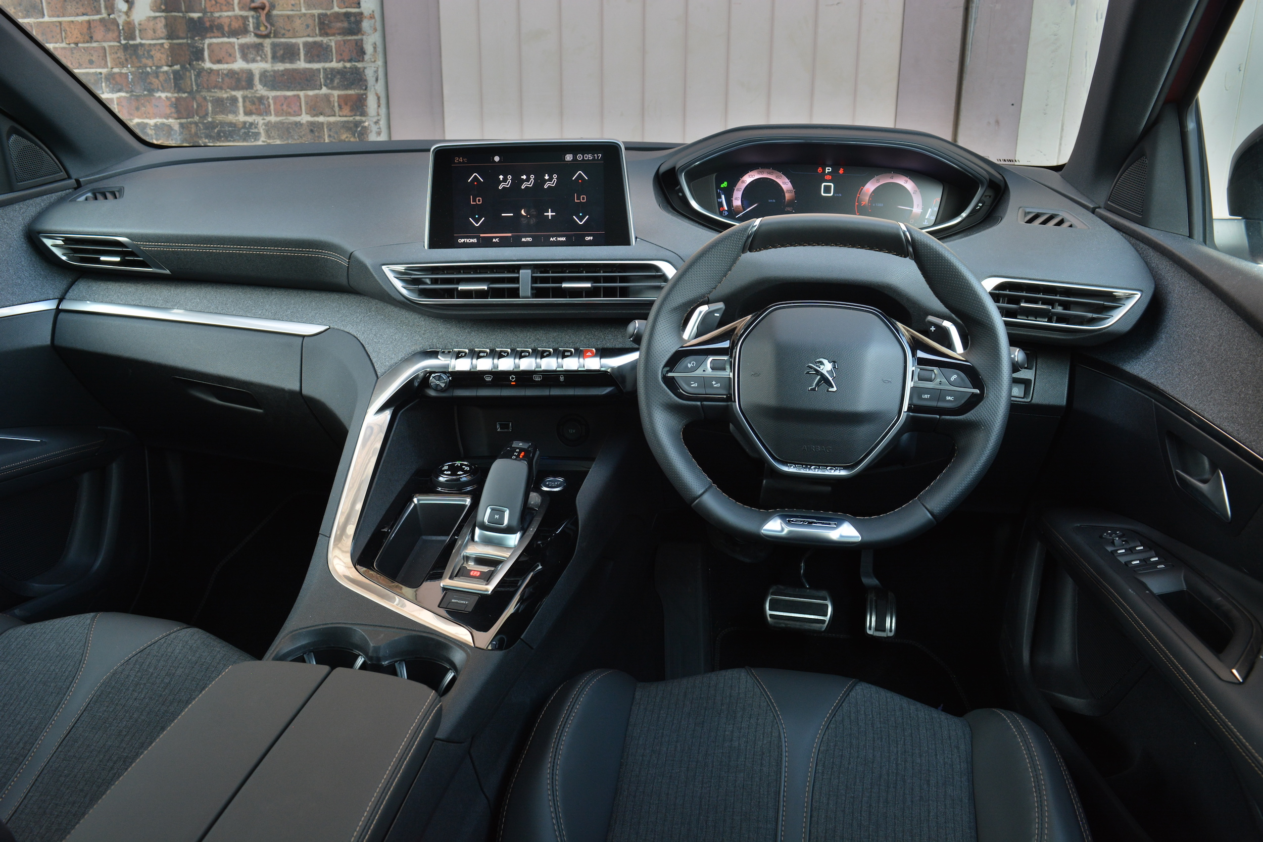 2017 Peugeot 3008 GT-Line.