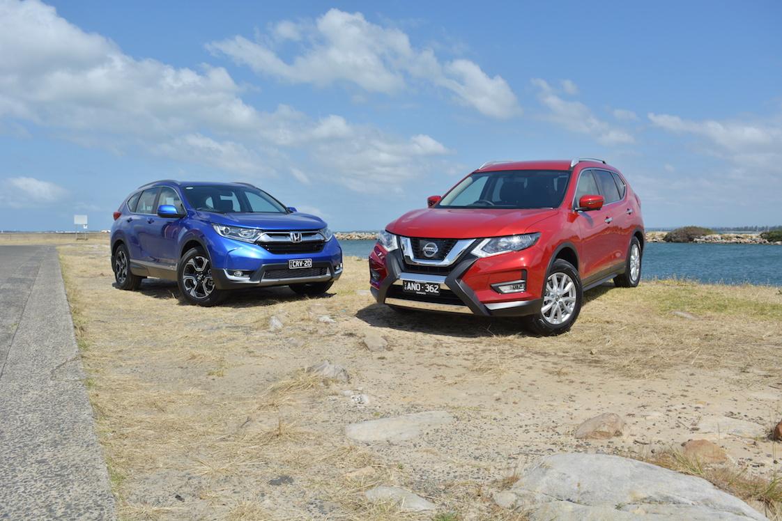 Seven-seat starters - Honda CR-V VTi-L v Nissan X-Trail ST-L Comparison Test