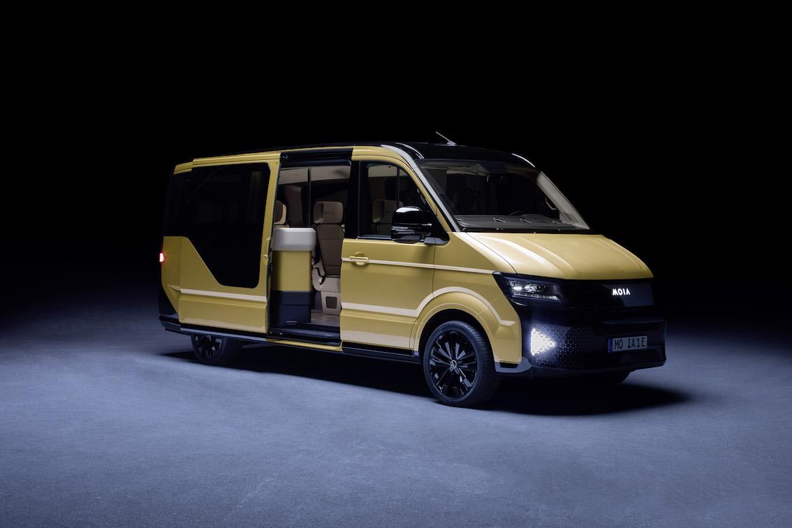 Volkswagen Previews New 'Ridepooling' Van