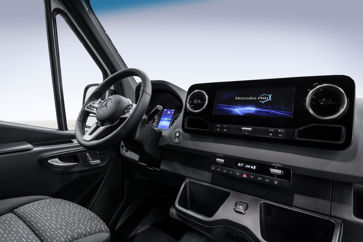 2018 Mercedes-Benz Sprinter interior