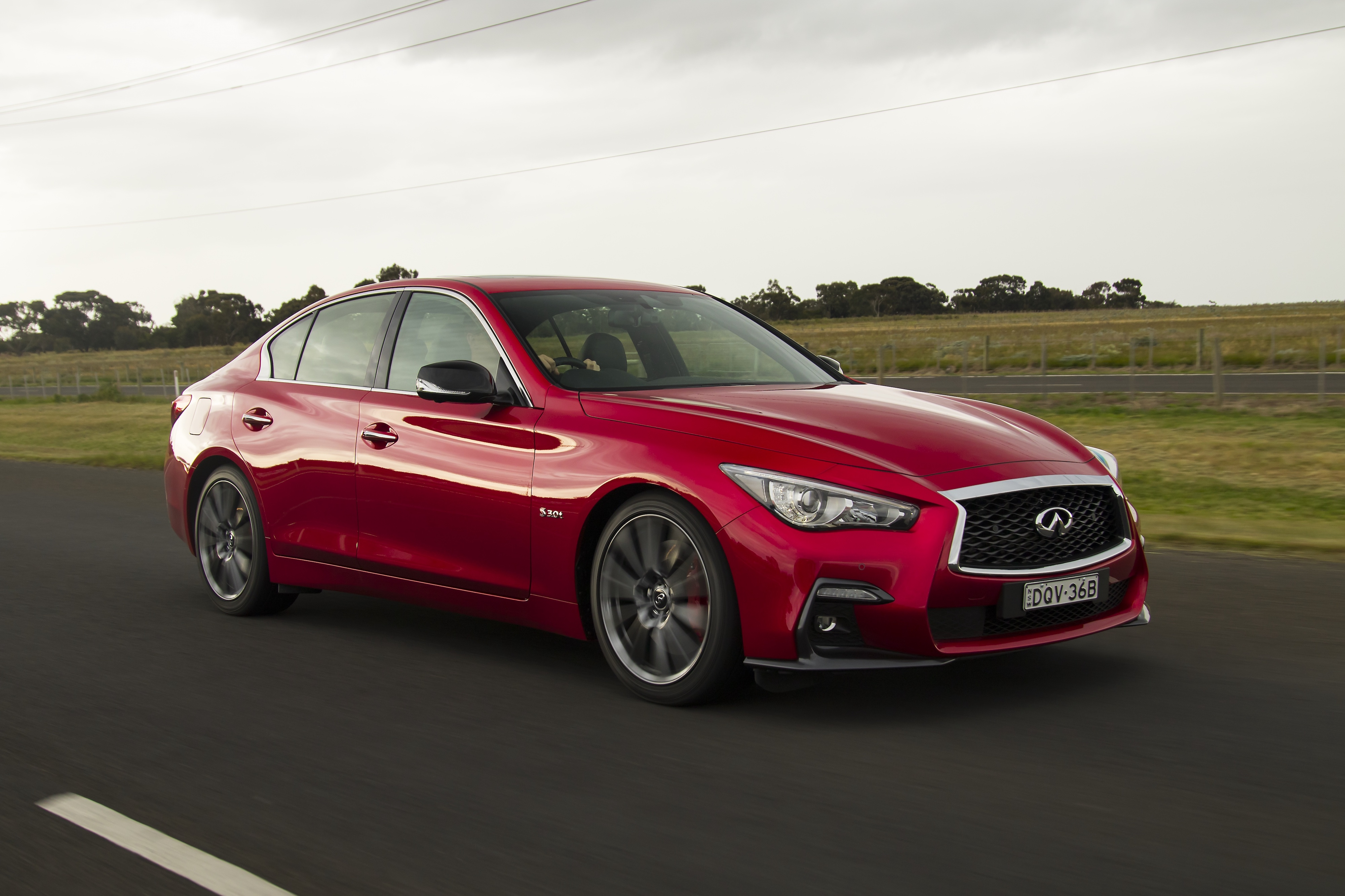 2018 Infiniti Q50 Red Sport first drive review
