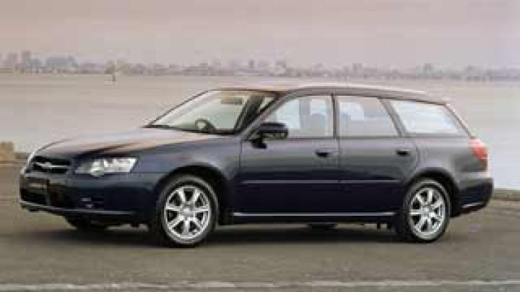 2003 Subaru Liberty wagon