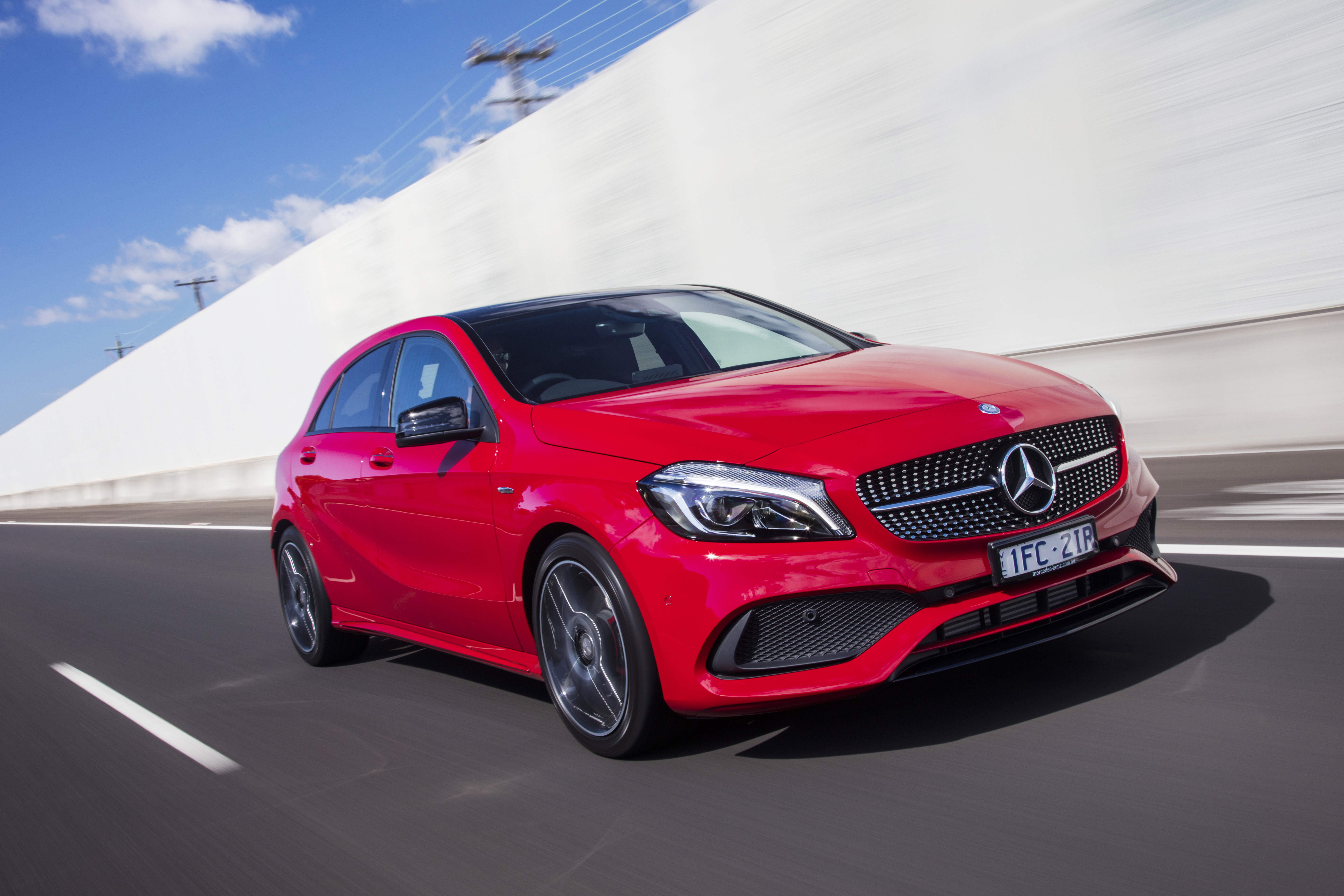 The new Mercedes-AMG A35 will sit above the A250 in the range.