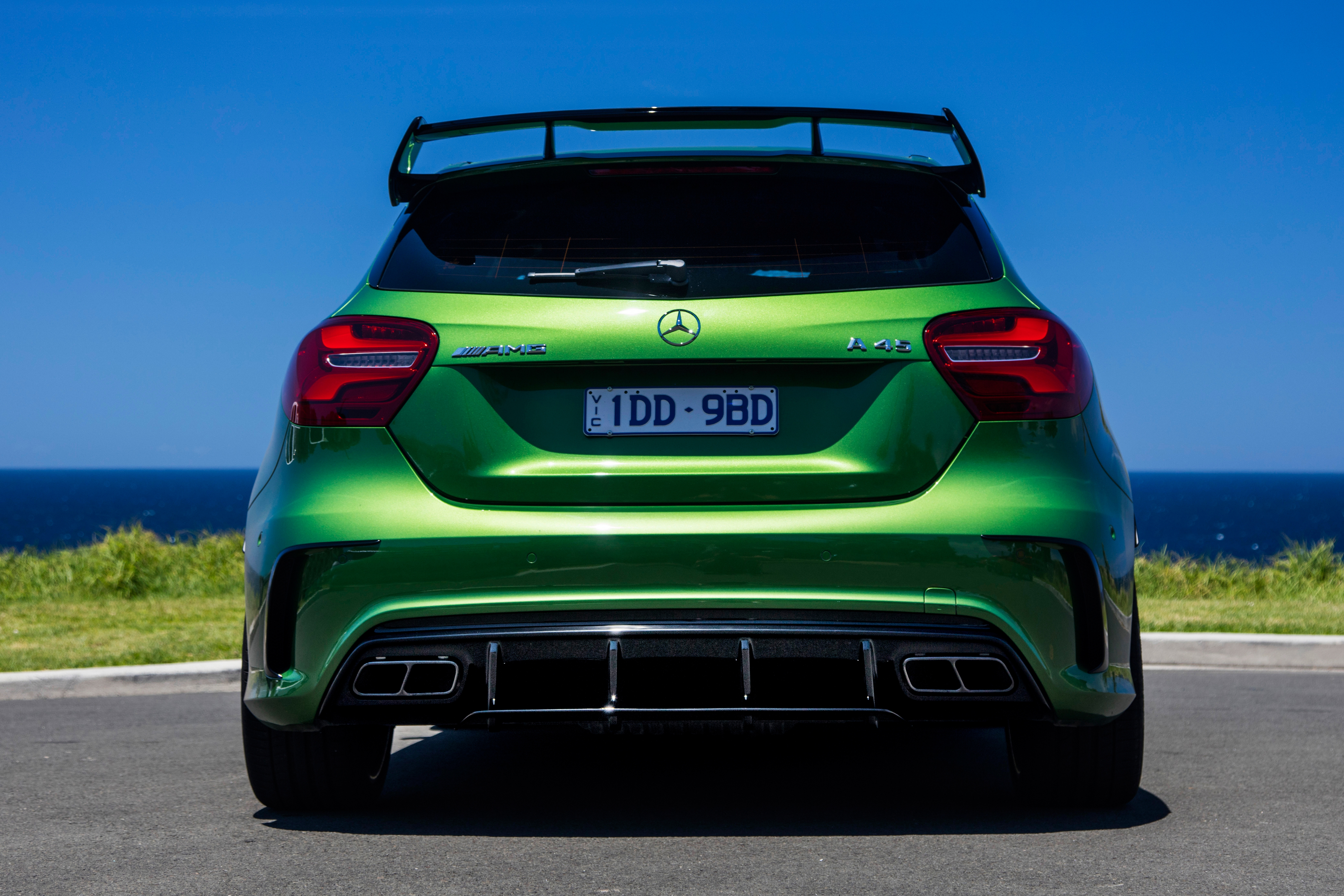 Mercedes is set to offer a less hardcore version of its AMG A45.