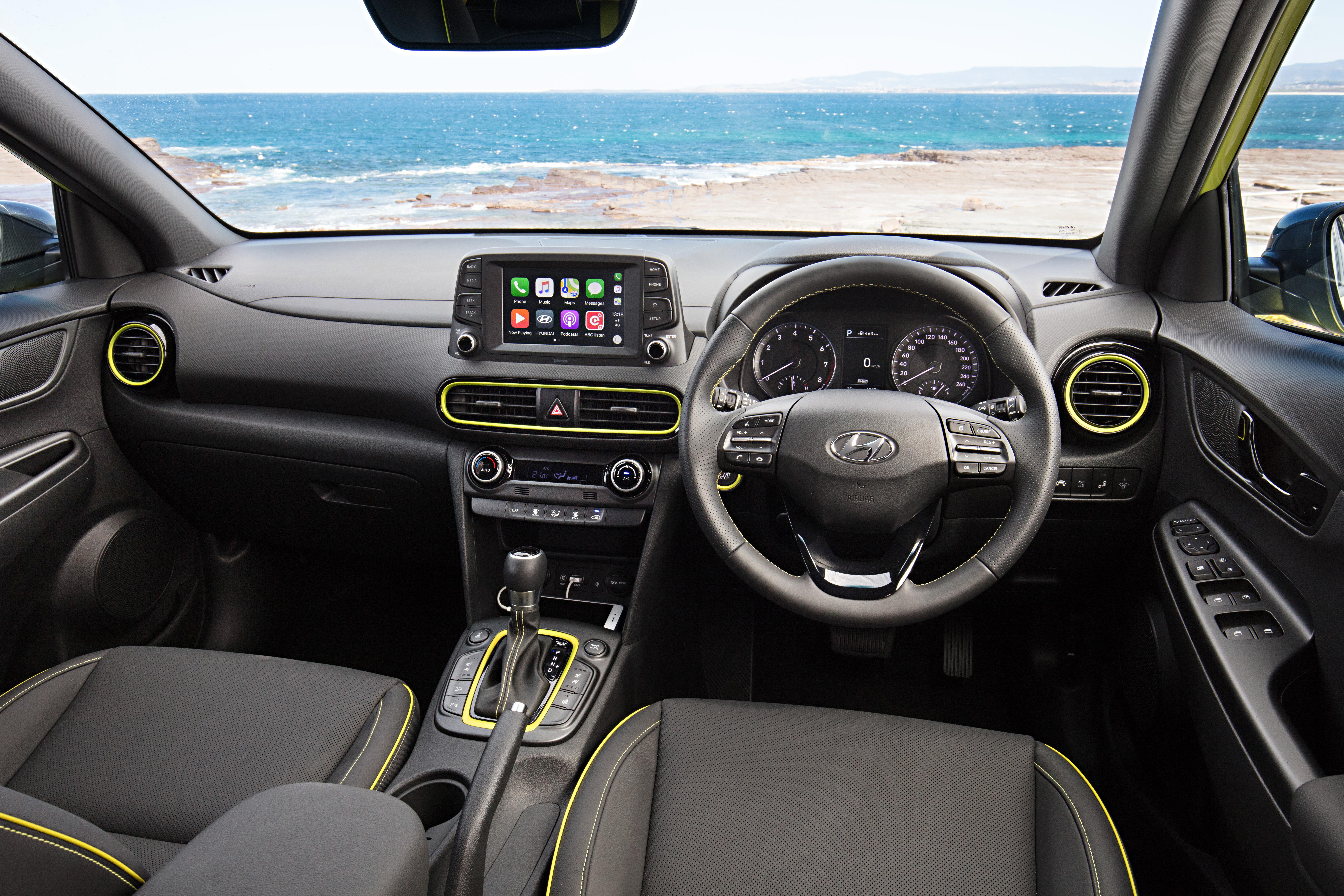 Hyundai Kona Highlander.