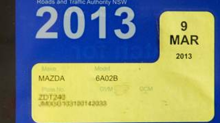 Q&A: Checking rego date