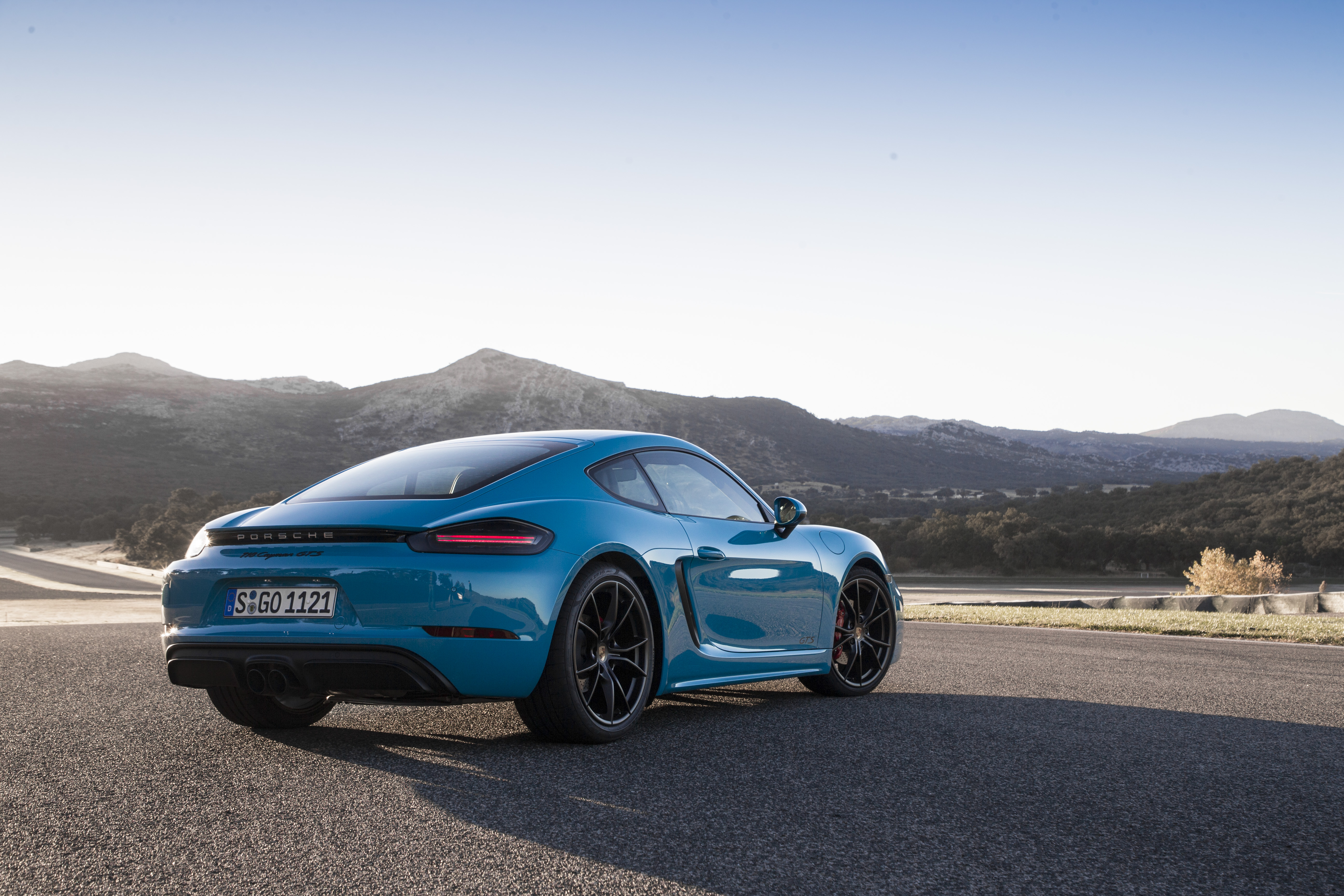 2018 Porsche 718 Cayman GTS