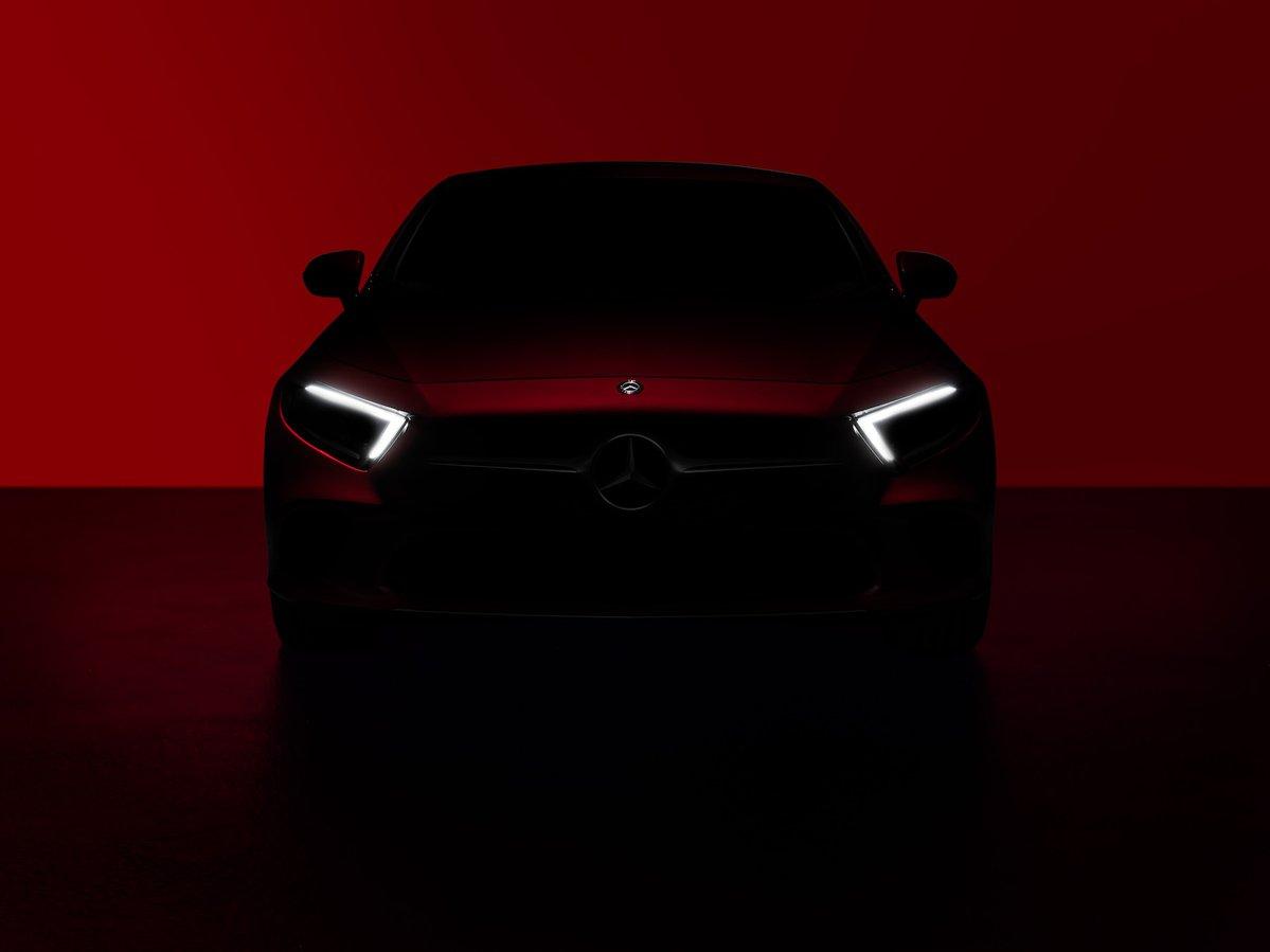 Mercedes-Benz Begins Teasing New CLS