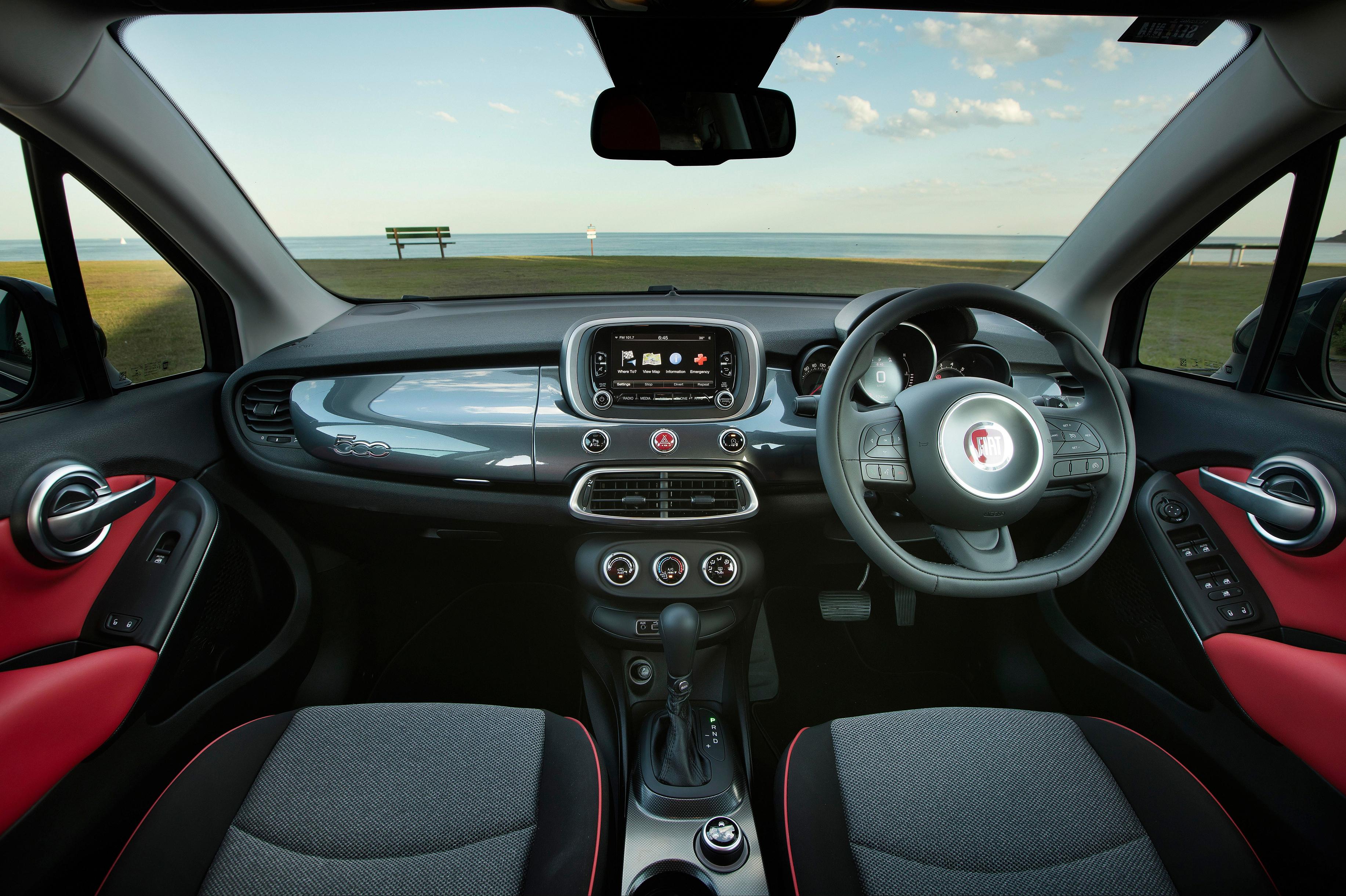 Fiat 500X Lounge.