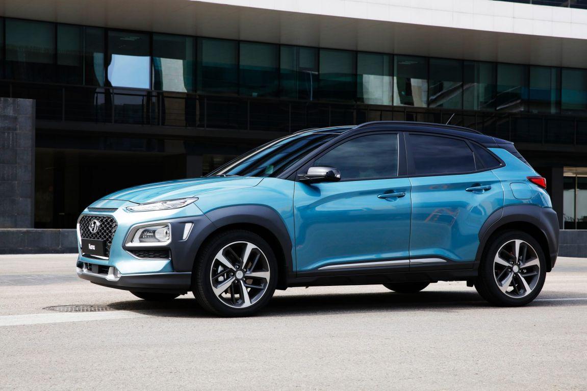 2017 Hyundai Kona.