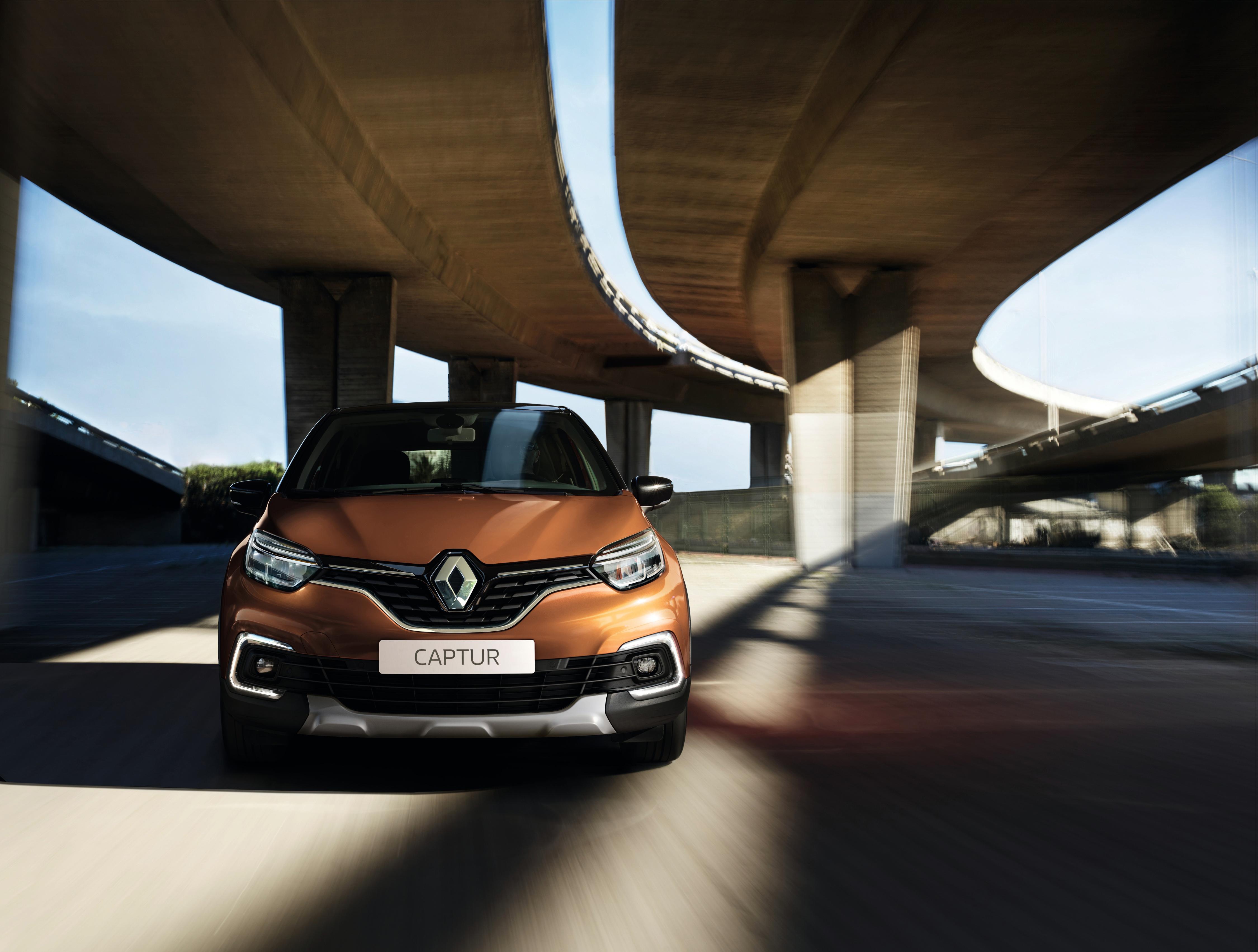 2017 Renault Captur.