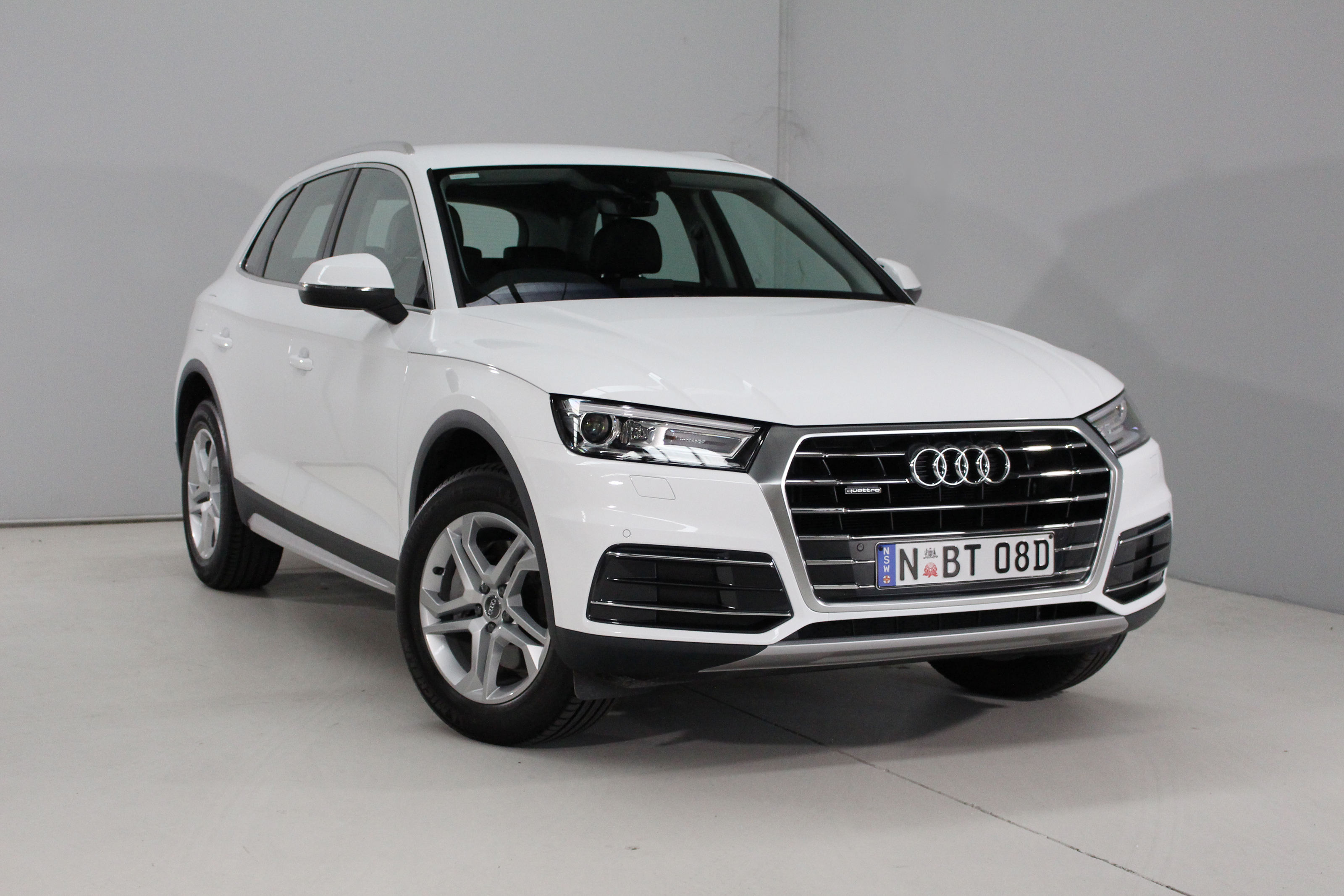 Audi's Q5 Design is the entry point to its Australian range.