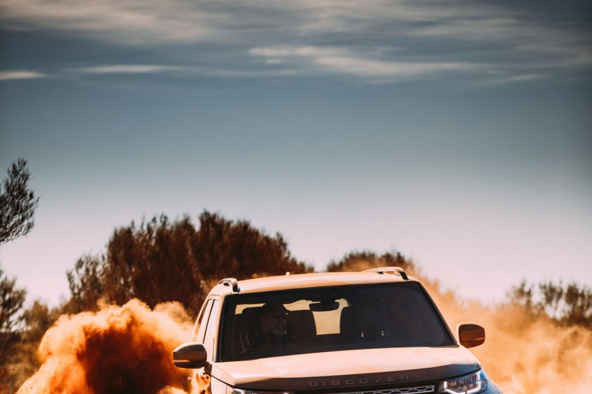 2017 Land Rover Discovery.