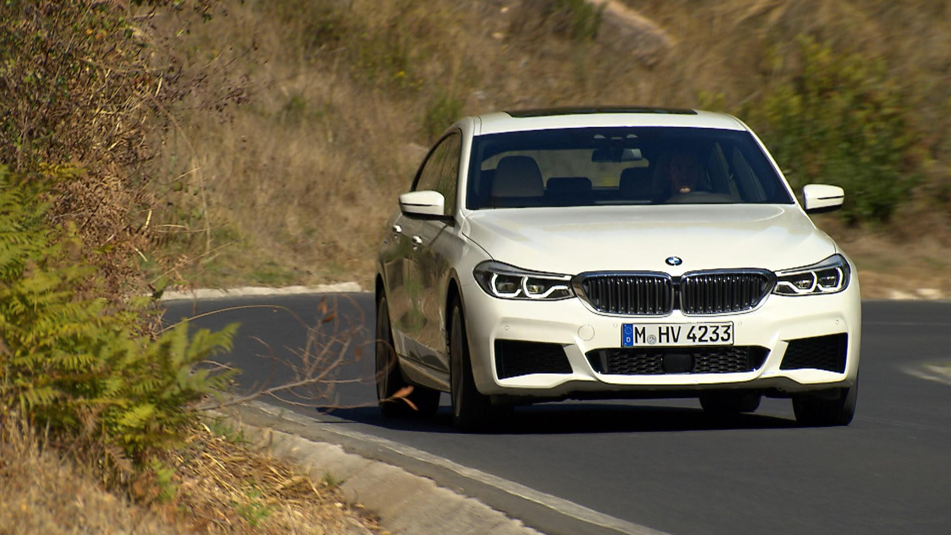 2018 BMW 6-Series GT.