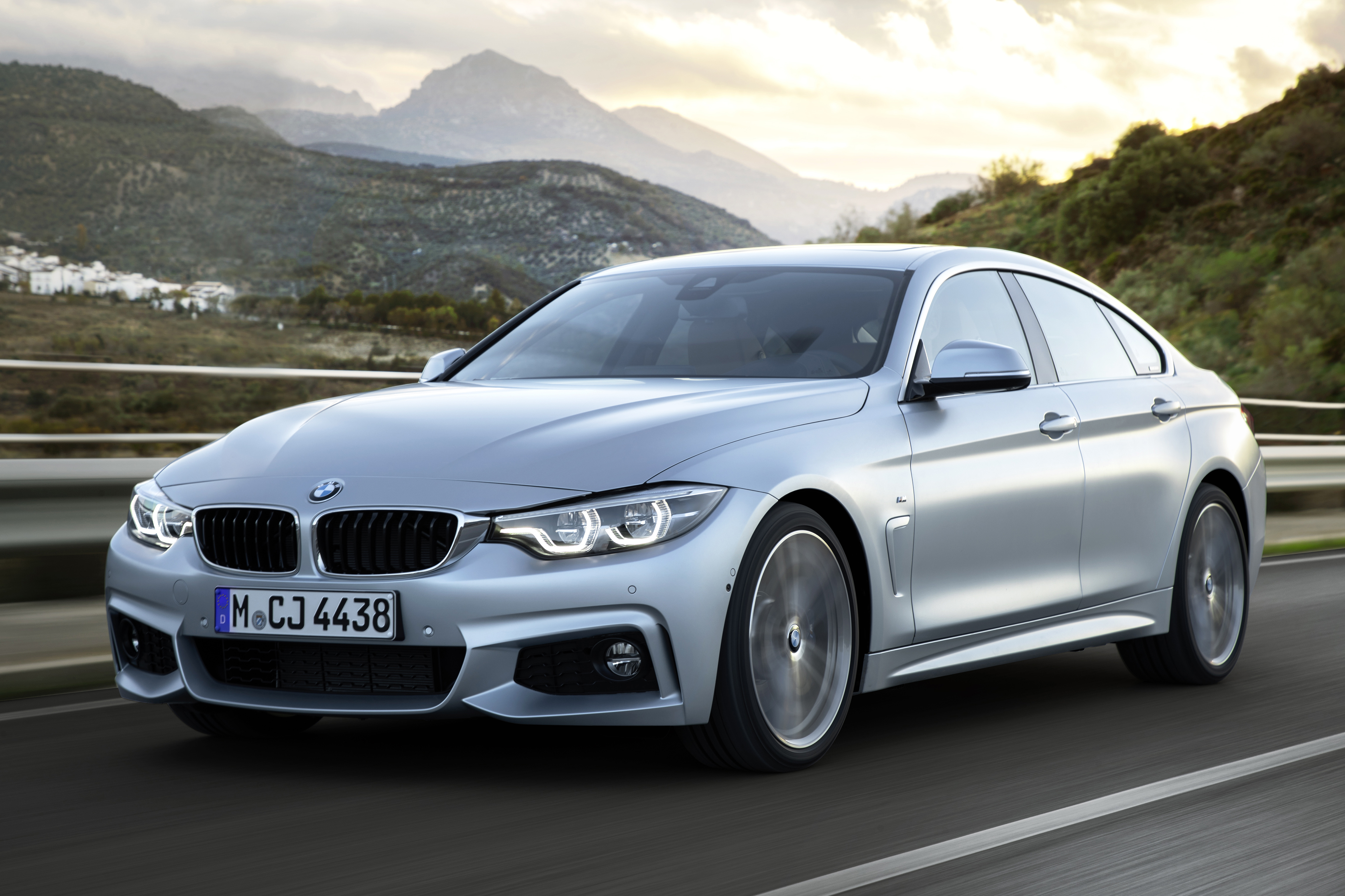 BMW's 4-Series Gran Coupe blends style and performance.