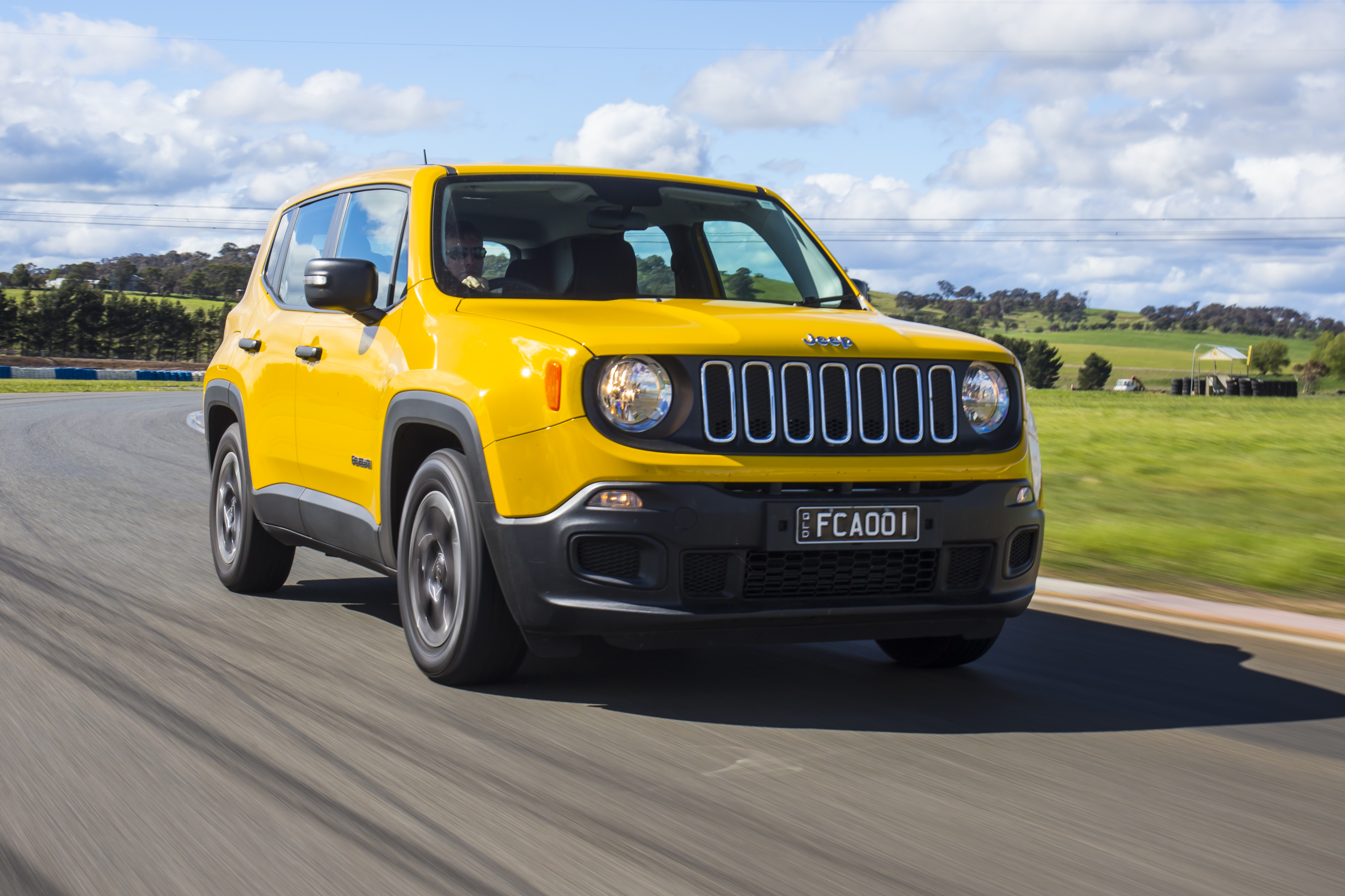 Jeep Renegade Sport.