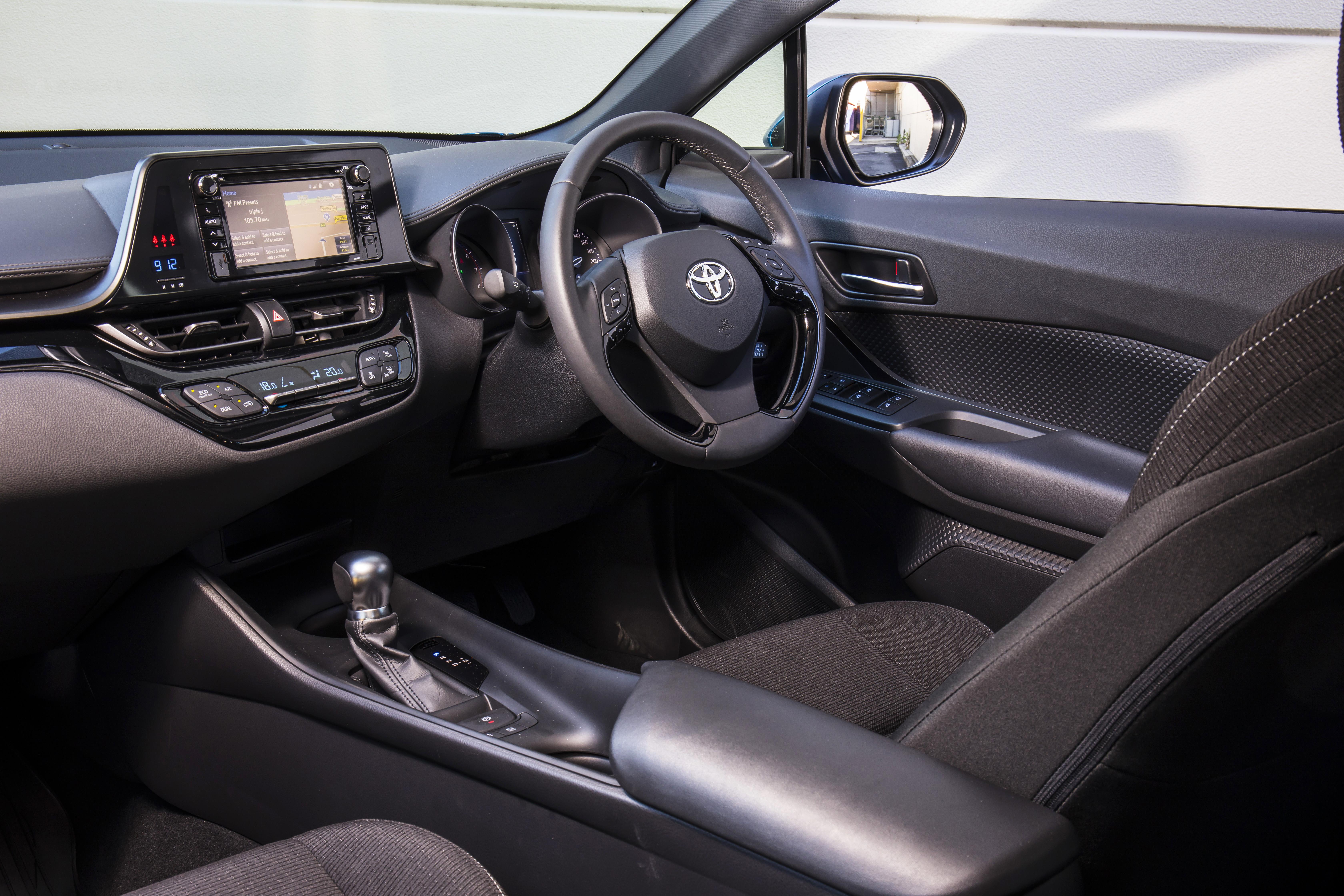 Toyota CH-R interior