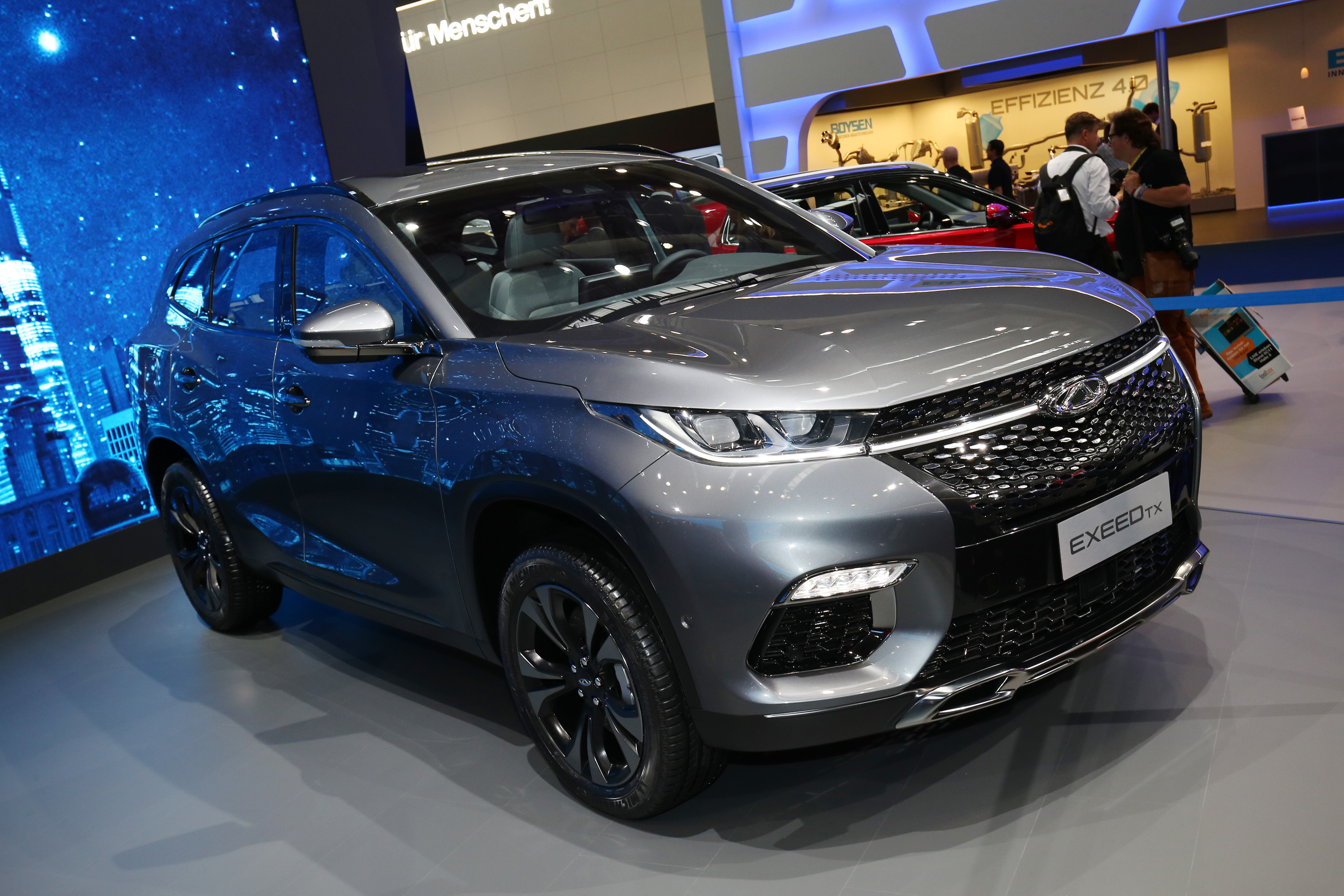Chery Exceed TX.