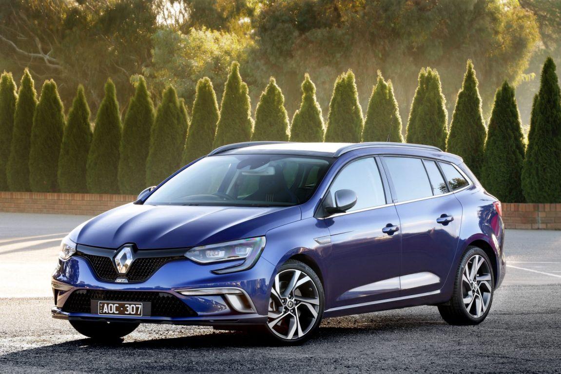 2017 Renault Megane wagon.