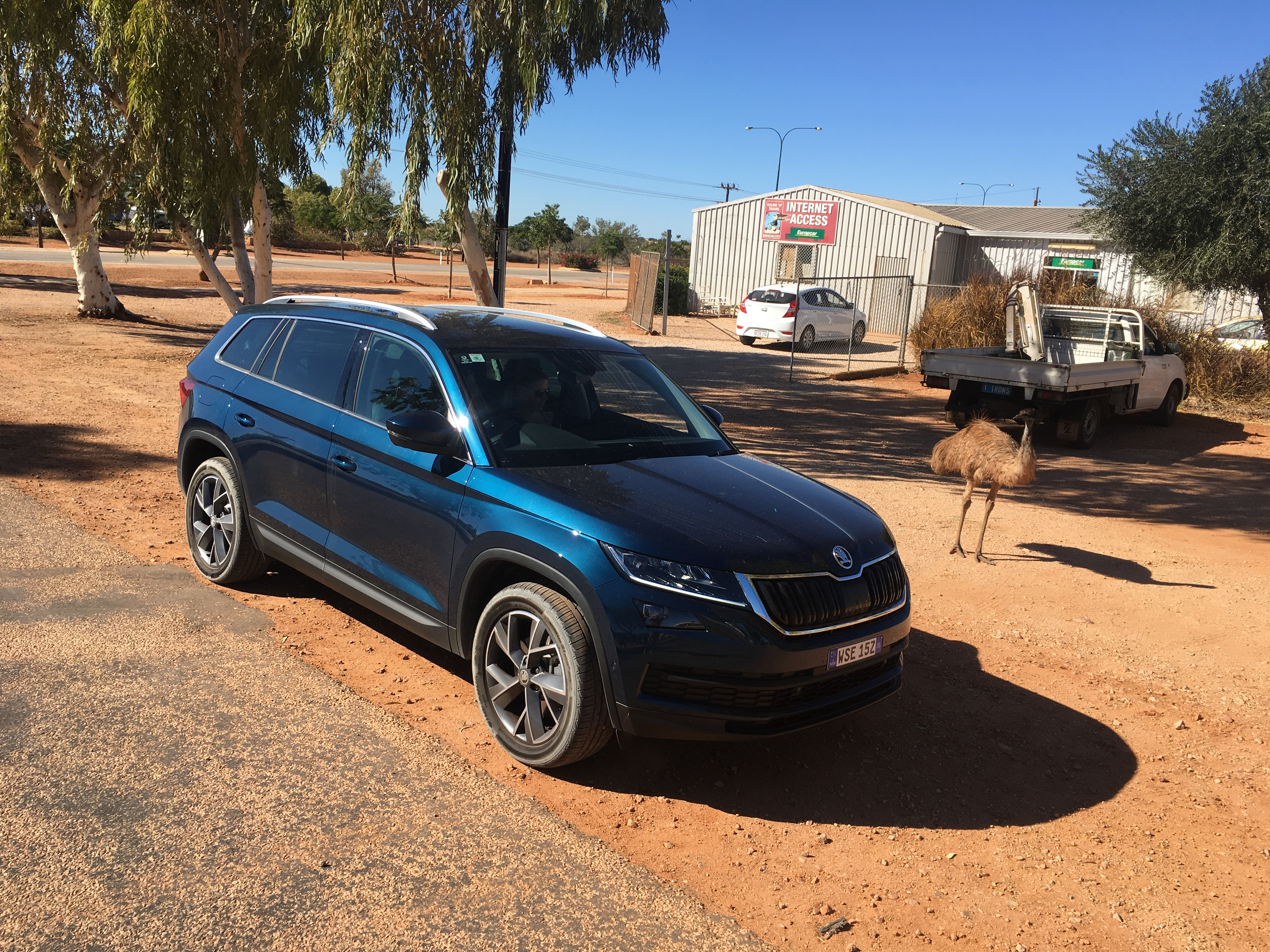 We find out how Skoda's new seven-seat Kodiaq fares on a long-distance road trip.