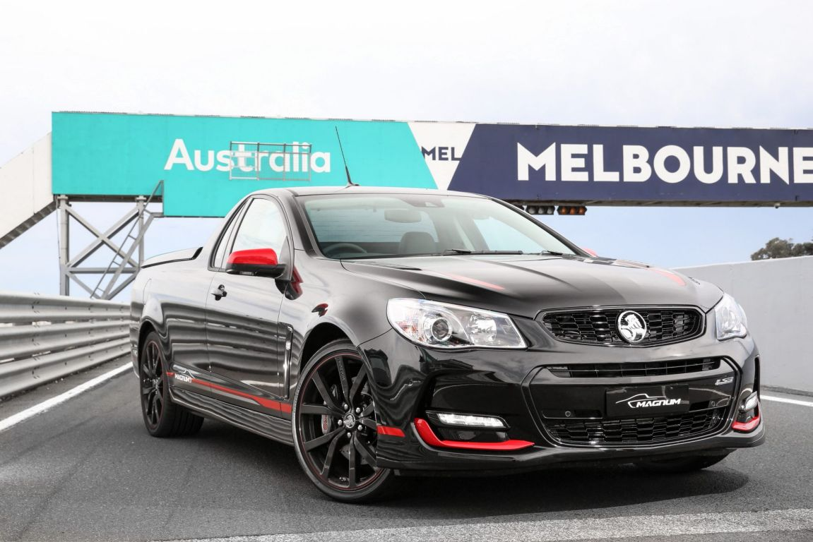 2017 Holden Commodore Magnum Limited Edition.