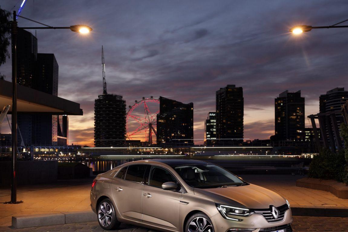 2017 Renault Megane sedan.