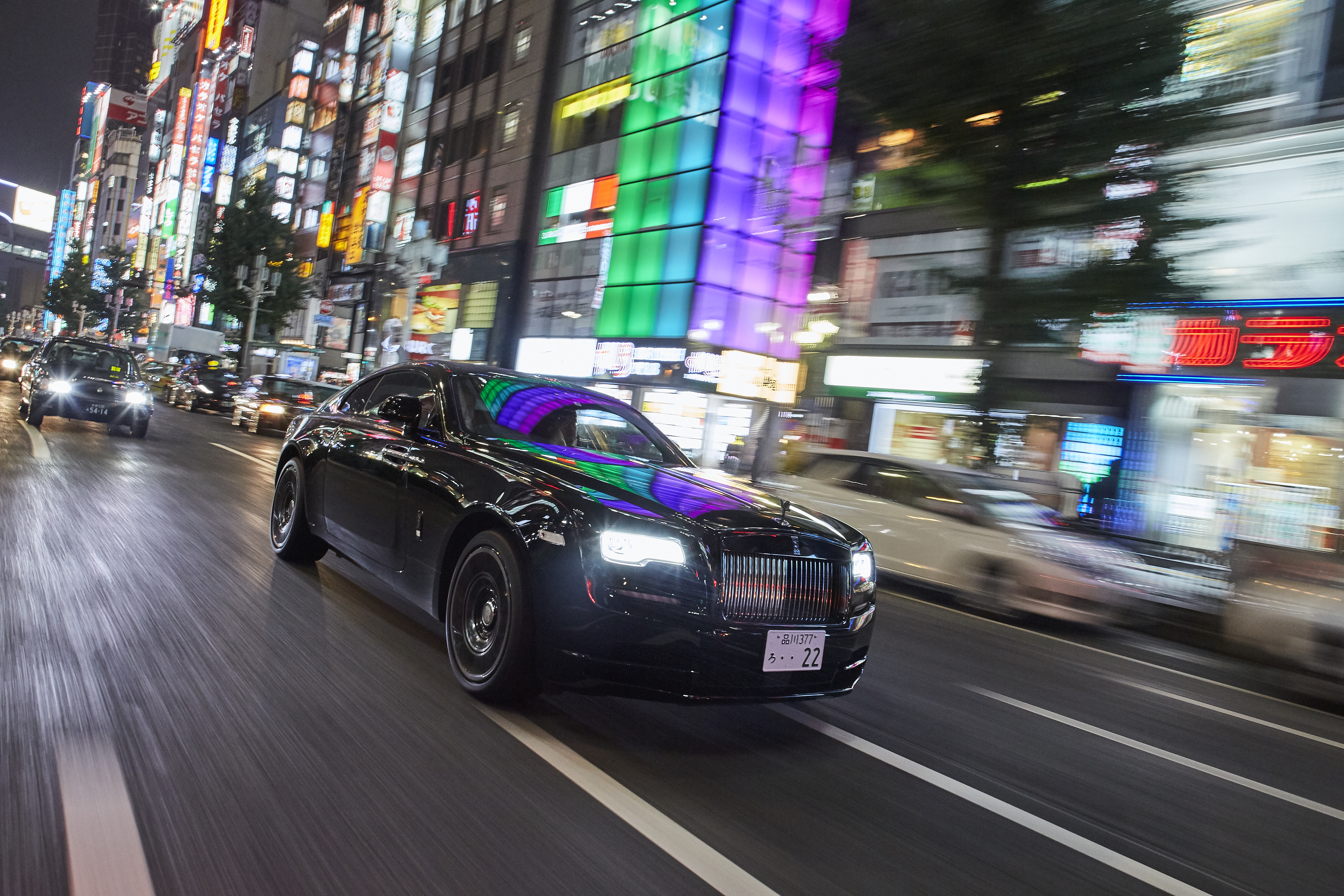 Driving a Rolls-Royce in Tokyo comes with some unforeseen perks.