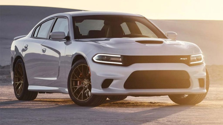 The new Dodge Charge SRT Hellcat packs a mighty 527kW punch.