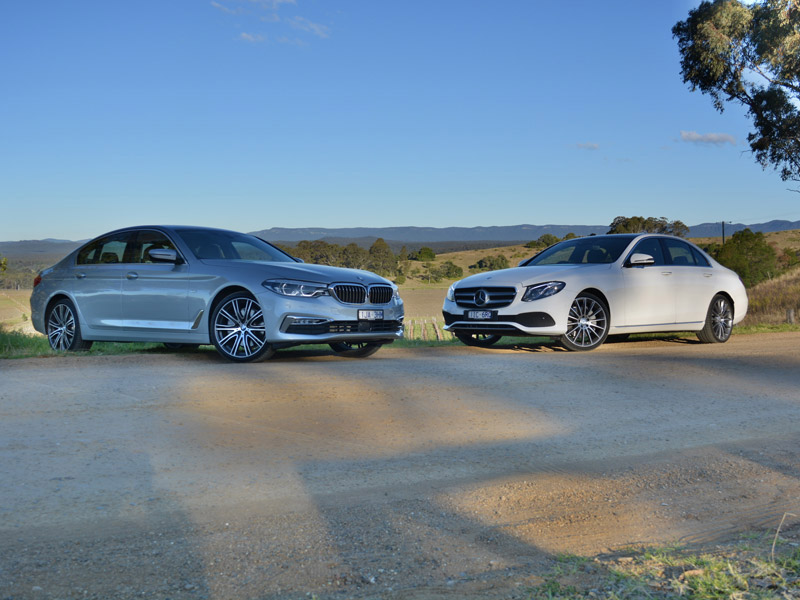 Large Luxury Lowdown – BMW 530i v Mercedes-Benz E300 Comparison Test