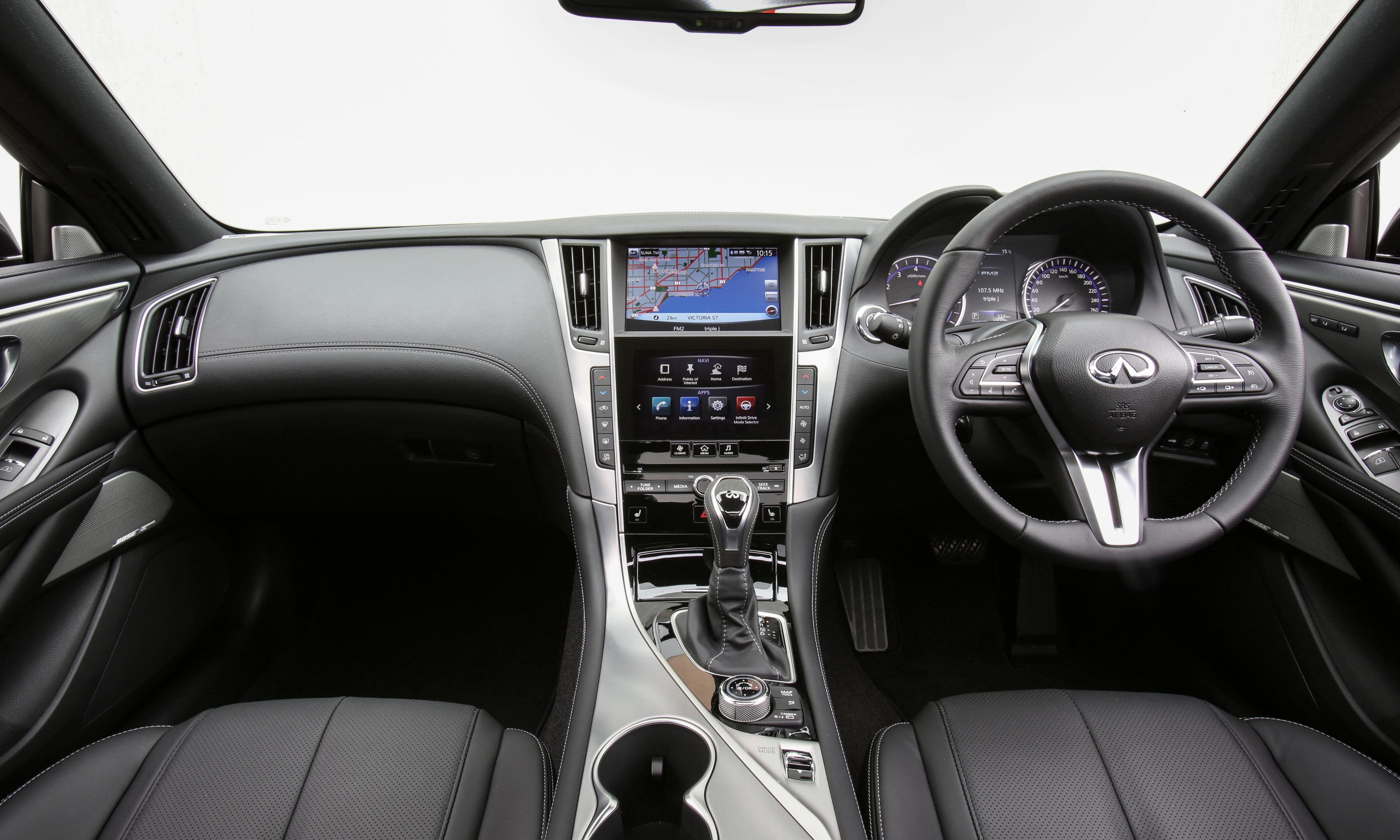 2017 Infiniti Q60 GT.