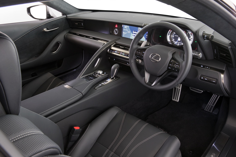 2017 Lexus LC500.