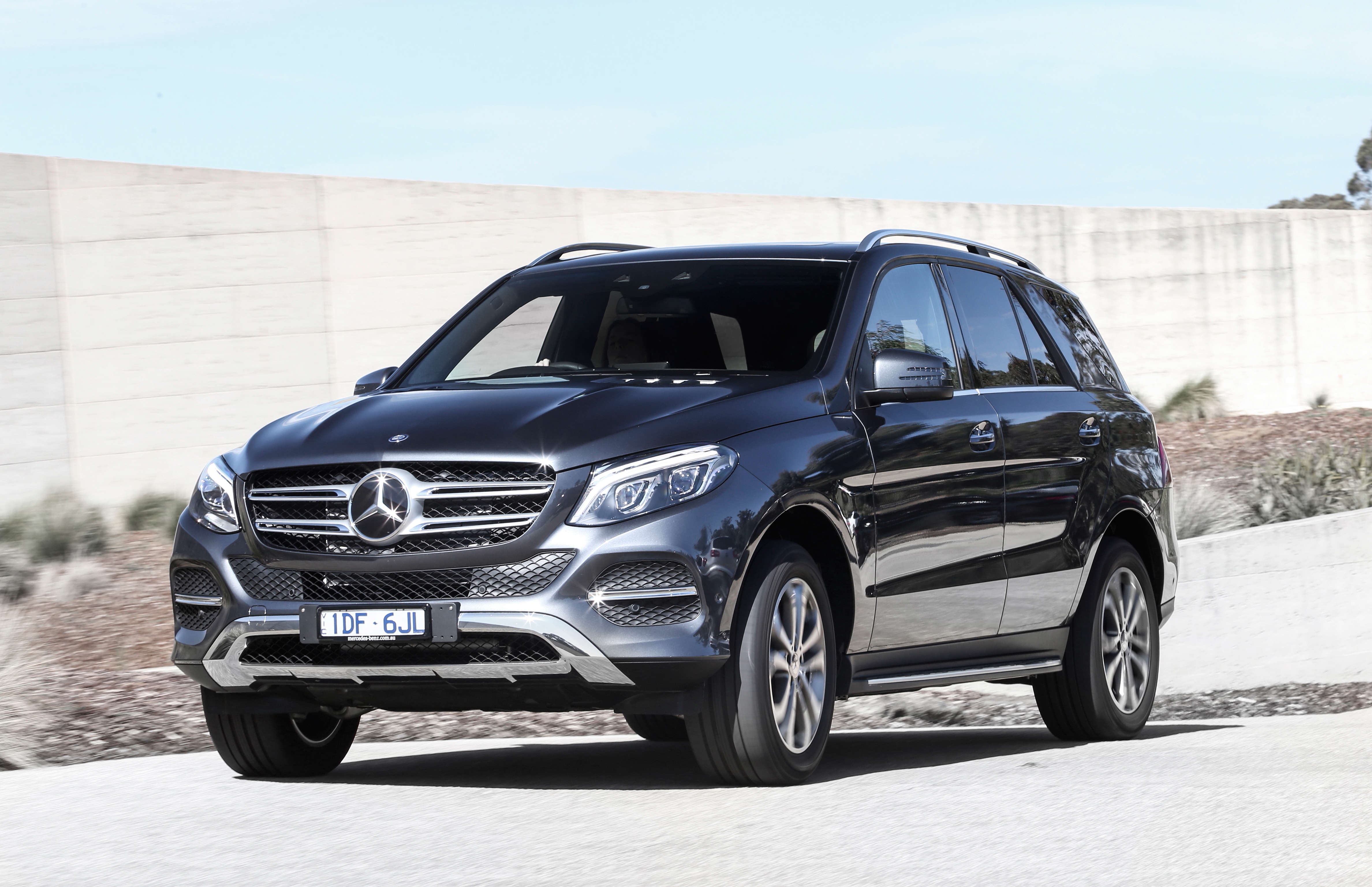 2017 Mercedes-Benz GLE250d.
