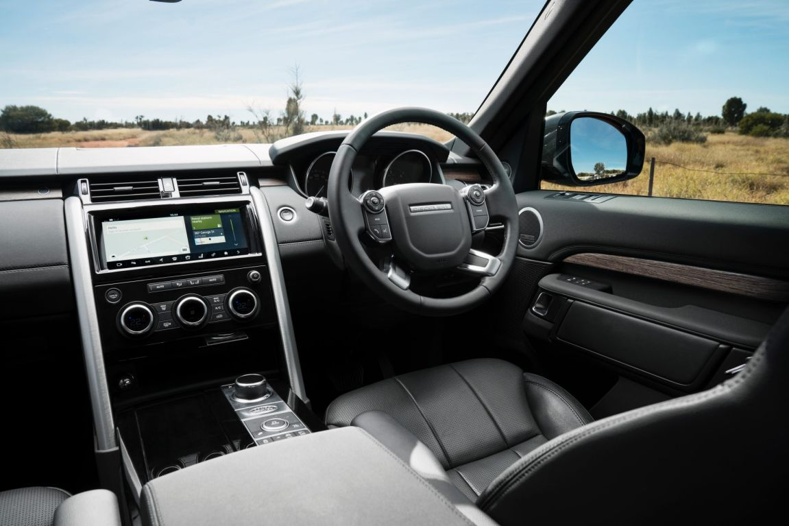 2017 Land Rover Discovery HSE.
