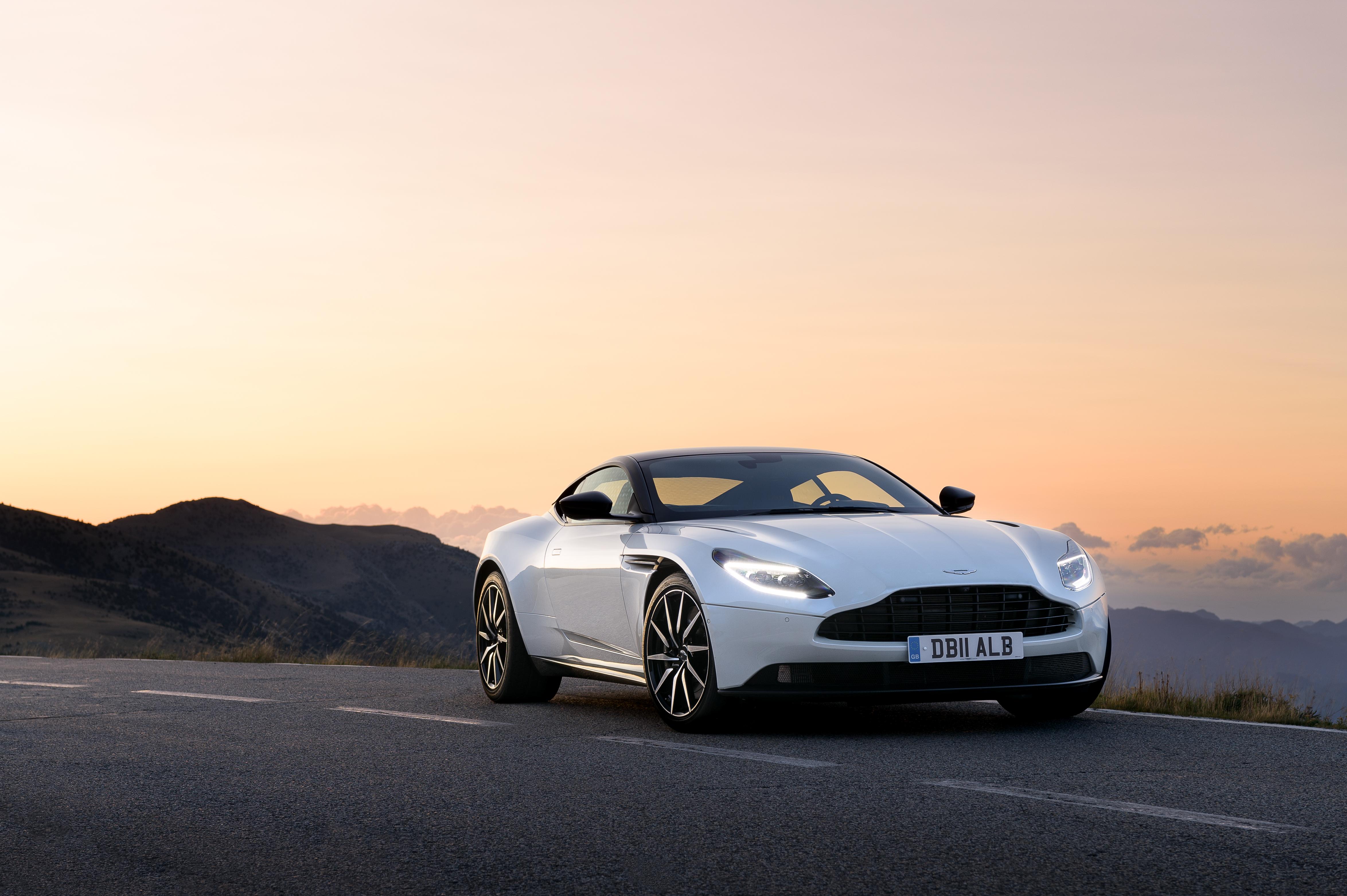 2018 Aston Martin DB11 V8.