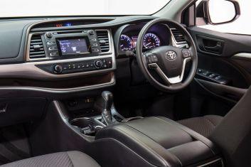 Seven seat SUV comparison: Toyota Kluger.