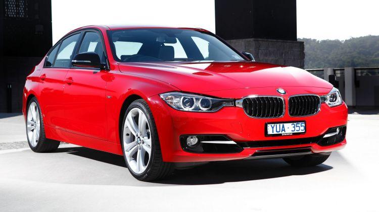 2012 BMW 335i.