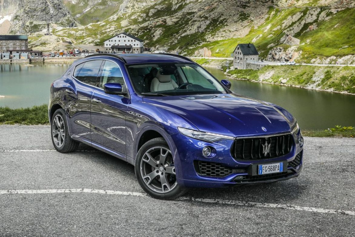 Maserati Levante S European road trip.