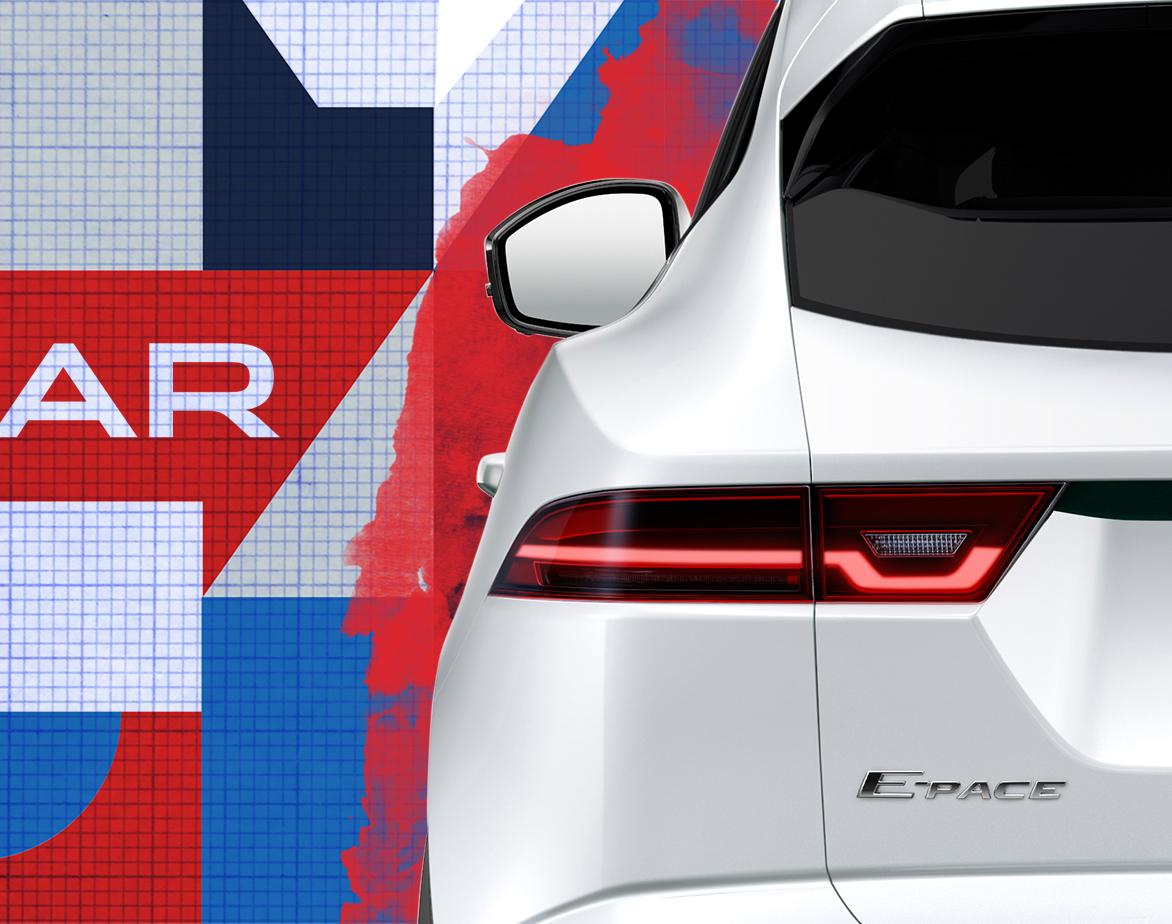 """Jaguar Teases E-Pace """"Compact Performance""""  SUV"""