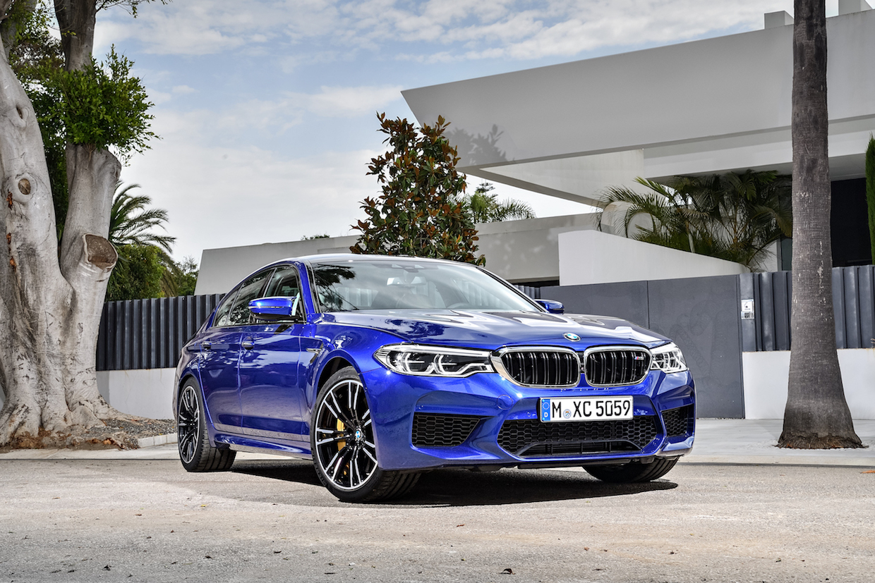 2018 BMW M5 Makes Its Official Debut