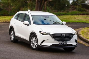 Seven seat SUV comparison: Mazda CX-9.