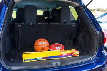 Seven seat SUV comparison: Nissan Pathfinder