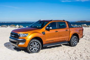 Range-topping dual cab ute comparison: Ford Ranger Wildtrak.